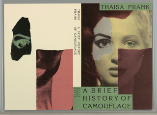 Book Cover, A Brief History of Camouflage