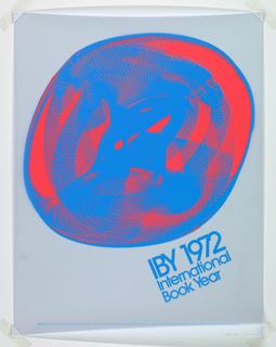 Poster, International Book Year, 1972