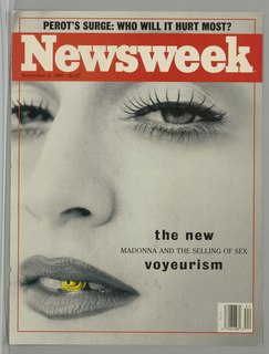 Book Cover, Newsweek