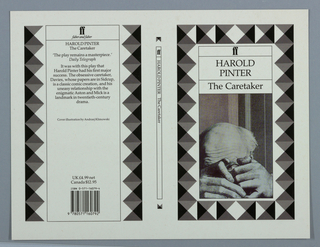 Book Cover, Harold Pinter: The Caretaker