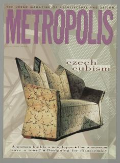 Book Cover, Metropolis