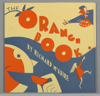 Book Cover, The Orange Book