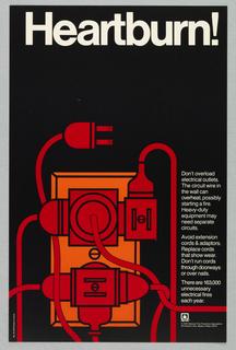 Poster, Heartburn!, 1974