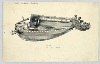 Drawing, The Hurdy Gurdy