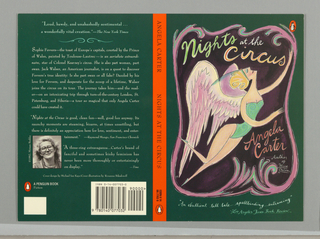 Book Cover, Nights at the Circus