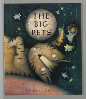 Book Cover, The Big Pets, 1991