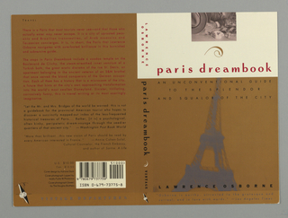 Book Cover, Paris Dreambook