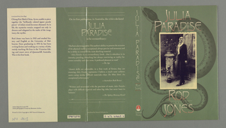 Book Cover, Julia Paradise, 1987