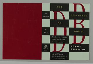 Book Cover, The Teachings of Don B.