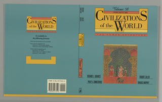 Book Cover, Civilizations of the World, Volume B
