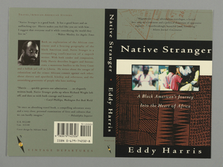 Book Cover, Native Stranger
