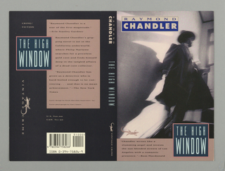 Book Cover, Vintage Crime: Chandler: The High
