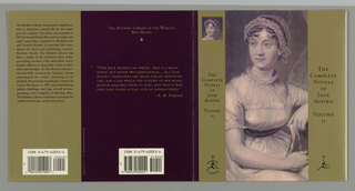 Book Cover, Modern Library: Complete Novels of Jane, 1992