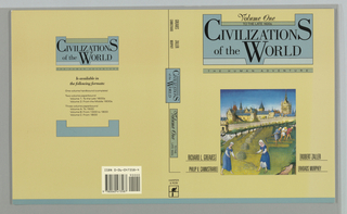 Book Cover, Civilizations of the World, Volume I