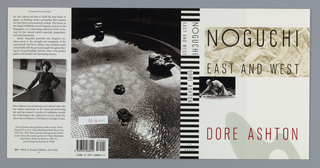 Book Cover, Noguchi East and West, 1992