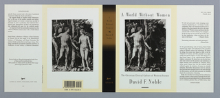 Book Cover, A World Without Women, 1992