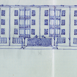 Elevation of building.