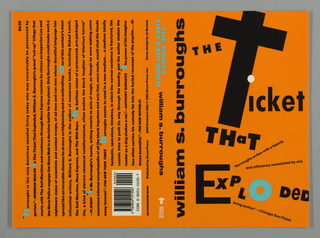 Book Cover, The Ticket that Exploded, 1992