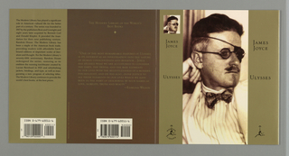 Book Cover, Modern Library: Ulysses, 1992