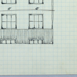 Elevation of a building.