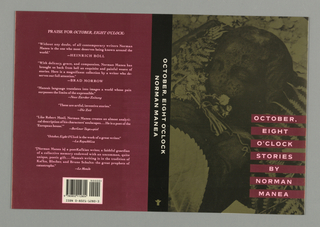 Book Cover, October, Eight O'Clock Stories, 1992