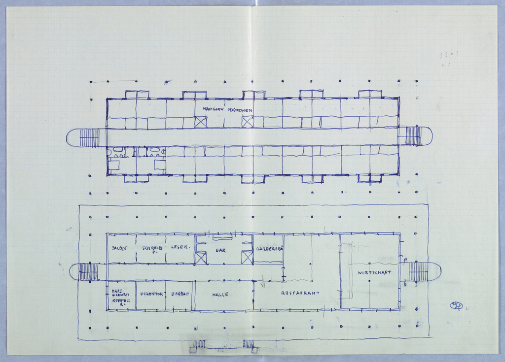 Interior floor plan.