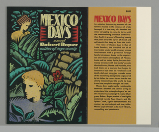 Book Cover, Mexico Days, 1989