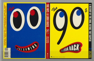 Book Cover, The 90's: A Look Back