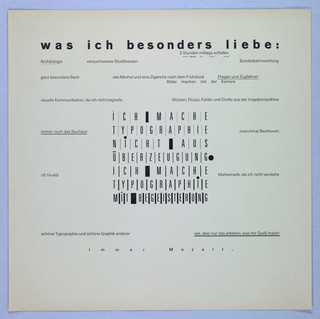 Text of various fonts and sizes printed on page.