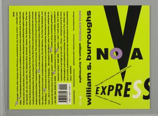 Book Cover, Nova Express, 1992
