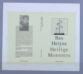 Book Cover, Heilige Monsters