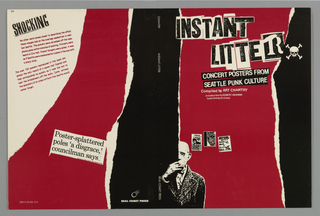 Book Cover, Instant Litter