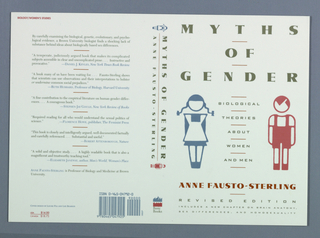Book Cover, Myths of Gender