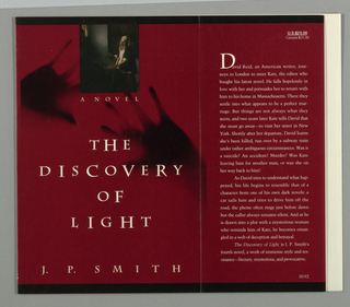 Book Cover, The Discovery of Light