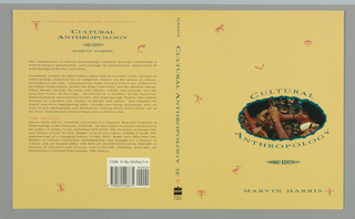 Book Cover, Cultural Anthropology