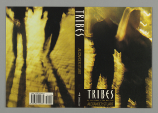 Book Cover, Book Cover: Tribes, ca. 1992