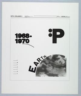 Print, 1974: Collage 3