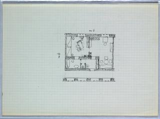 Drawing, Floor Plan [Blechturmgasse Wohnung (Blechturmgasse Wohnung)]