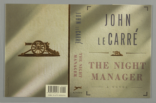 Book Cover, The Night Manager, 1993