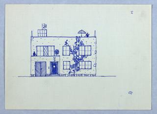 Architectural elevation.