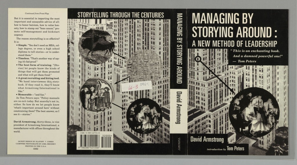 Book Cover, Managing by Storying Around