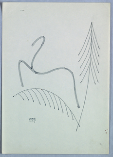 Drawing, Design for Ornament