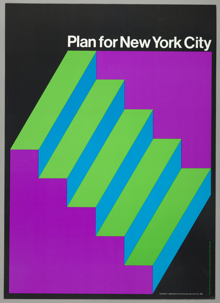Poster, Plan for New York City