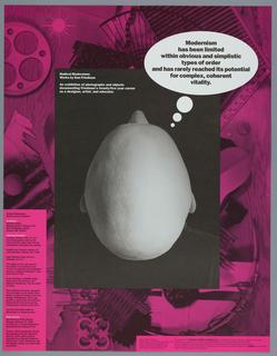 Poster, Radical Modernism: Works by Dan Friedman