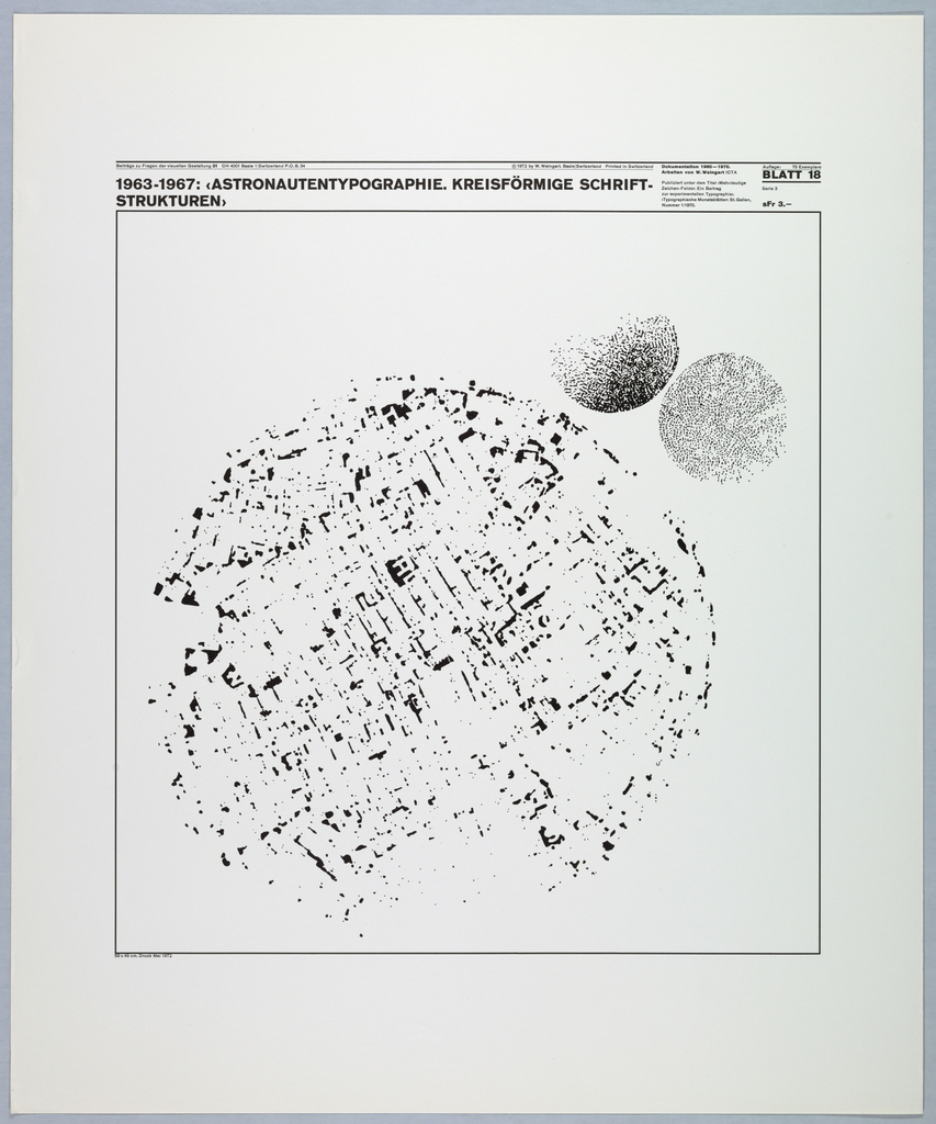 Poster features varied patterns.