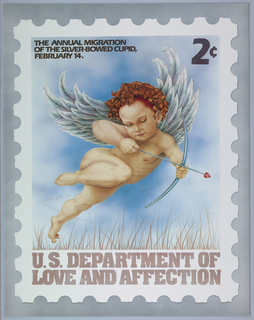 Poster, U.S. Department of Love and Affection