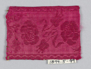 Trimming Fragment (France), mid-19th century