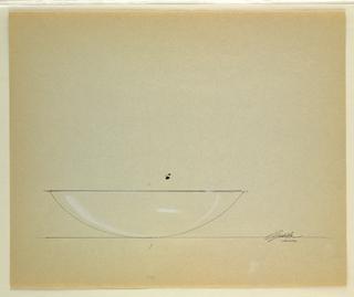 Drawing, Bowl, 1991