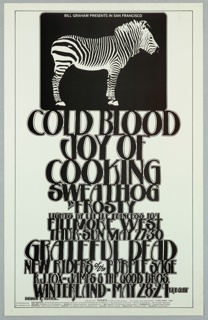 Poster, Cold Blood Joy of Cooking
