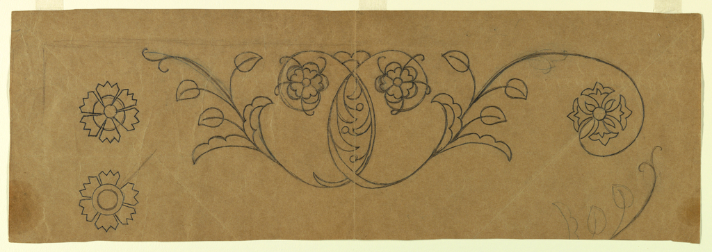 Pattern For Uncounted Embroidery (USA)